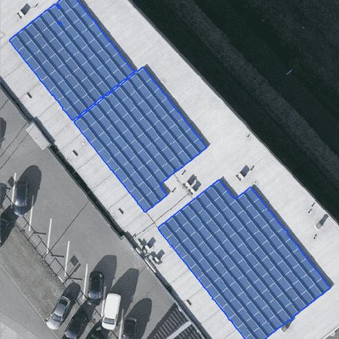 Detectie zonnepanelen op luchtfoto's, GIS, deep learning, machine learning, zonnepaneel segmentatie, objectherkenning, objectdetectie
